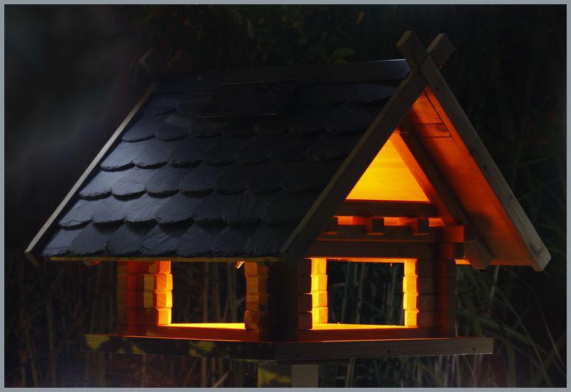 Blockhaus Thueringer Schiefer m. Beleuchtung-Galerie01