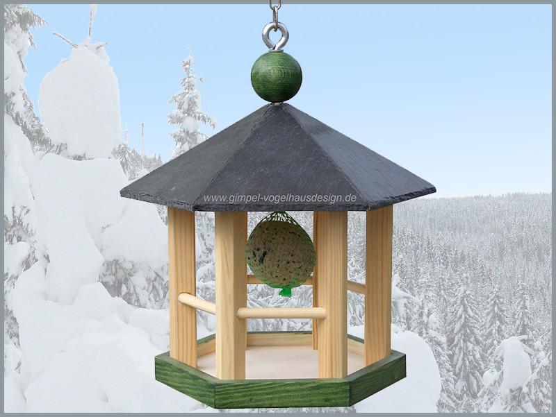 Pavillon 25 cm grün-natur-grün,Knödel_cl