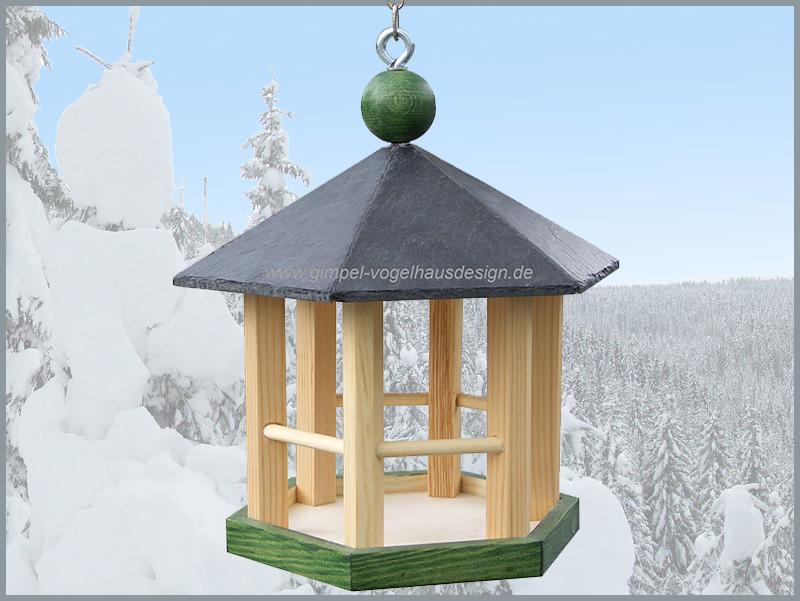 Pavillon 25 cm grün-natur-grün_cl
