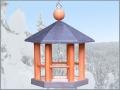 Pavillon 25 cm grau-nordisch rot04_cl