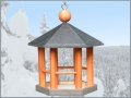 Pavillon 25 cm grau-rot01_cl